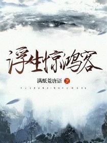 浮生惊鸿客小说封面